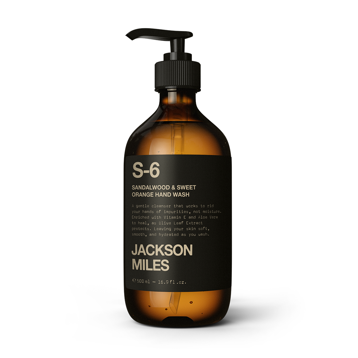 S-6 Sandalwood & Sweet Orange Hand Wash 500ml