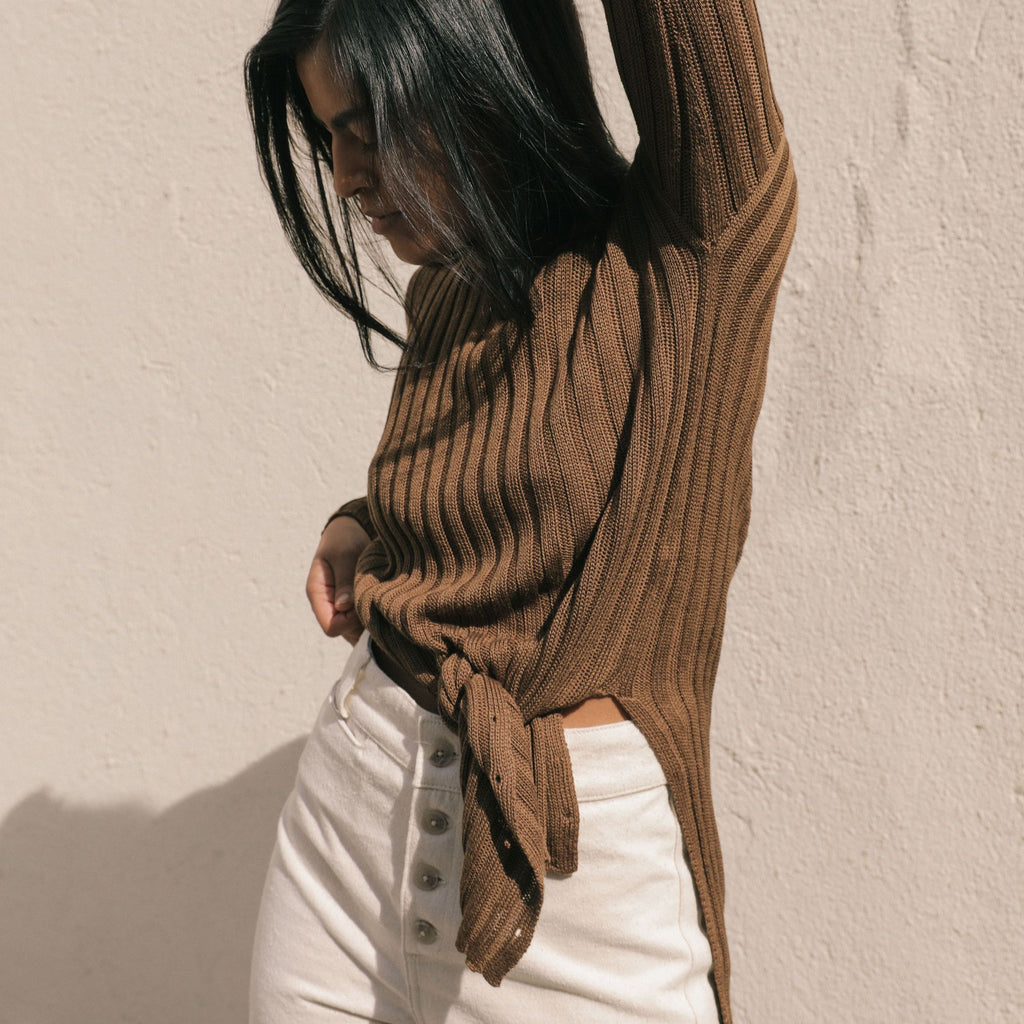 Kordal Eve Sweater - Ochre