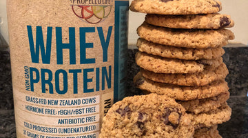 Dark Chocolate Chip Oatmeal Protein Cookies