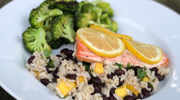 Wild Caught Salmon + Caribbean Rice