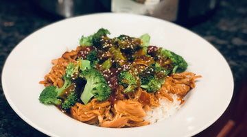 Honey Sriracha Chicken Bowl