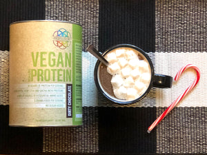 Propello Life vegan hot chocolate natural supplements