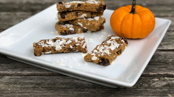 Chocolate Chip Pumpkin Energy Bars