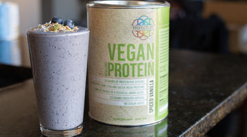 Propello Life Banana Berry Blast Vegan Protein Smoothie | with the best plant based protein