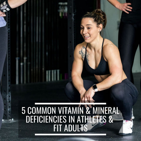 propello life blog 5 common vitamin and mineral deficiencies in athletes and fit adults