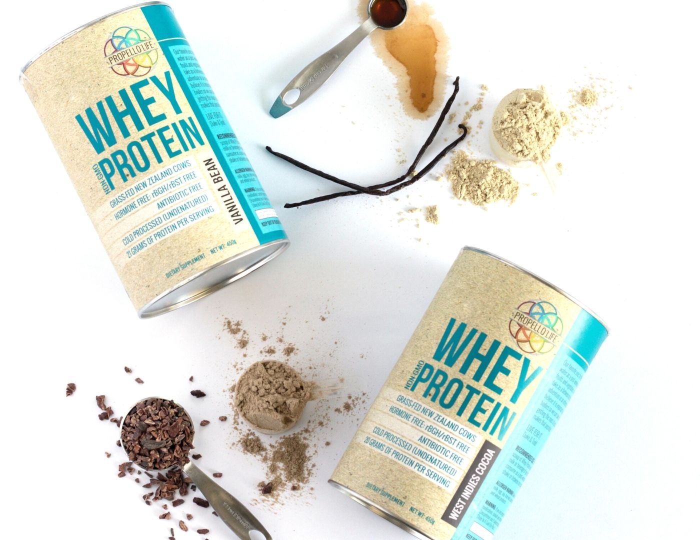 Propello Life natural premium supplements non-gmo whey protein grass-fed hormone free cold processed