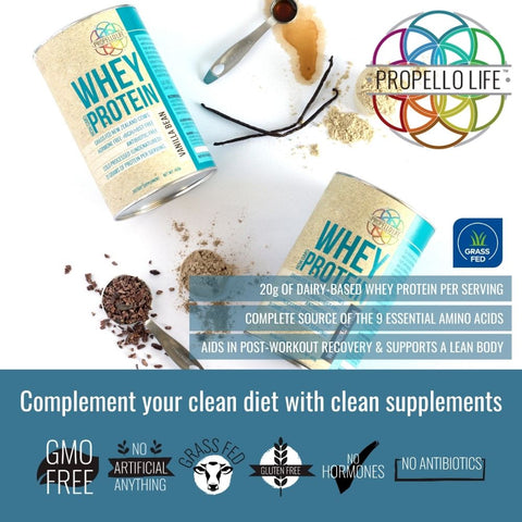 propello life whey protein is a certified grass fed whey protein natural supplement