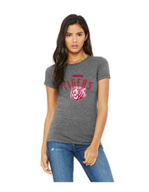 Wittenberg University Tigers super soft tee grey