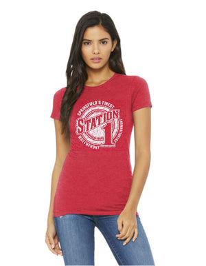 Propello Life and Wittenberg University _Station One Vintage_ Tee New Logo red