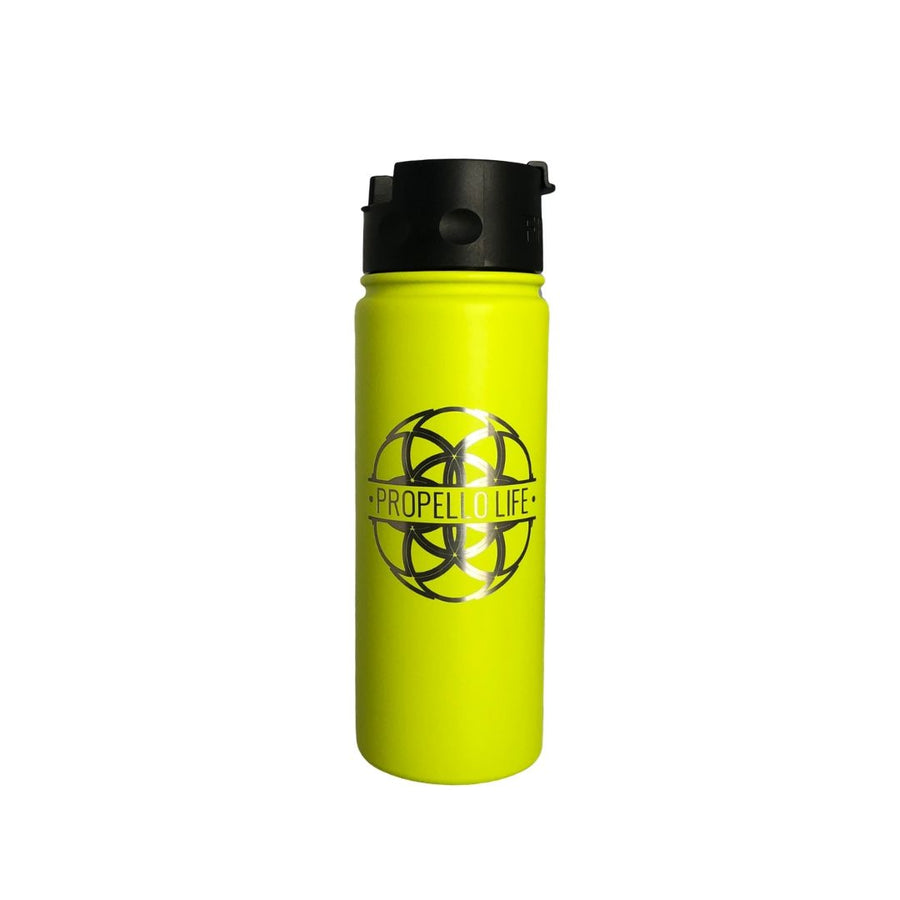 Propello Life 18oz Stainless Steel Water Bottles for our premium natural supplements lime