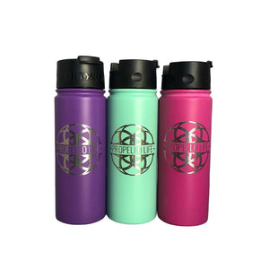 Propello Life 18oz Stainless Steel Water Bottles for our premium natural supplements multi color1