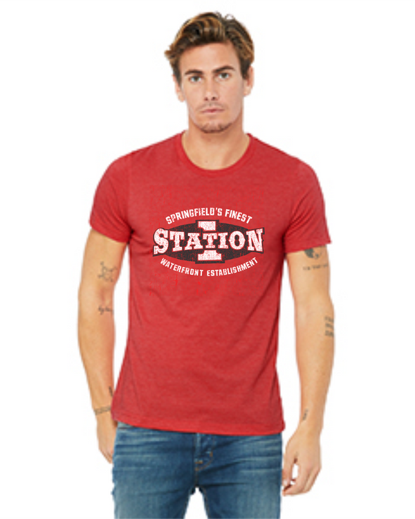 Propello Life and Wittenberg University _Station One Vintage_ Tee Old Logo red