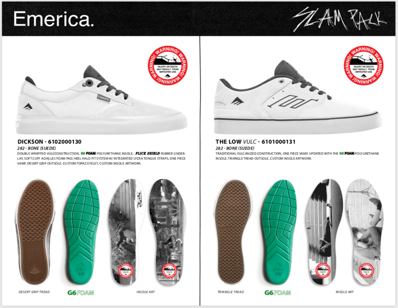 NEW: Emerica Slam Pack Shoes Are Here!