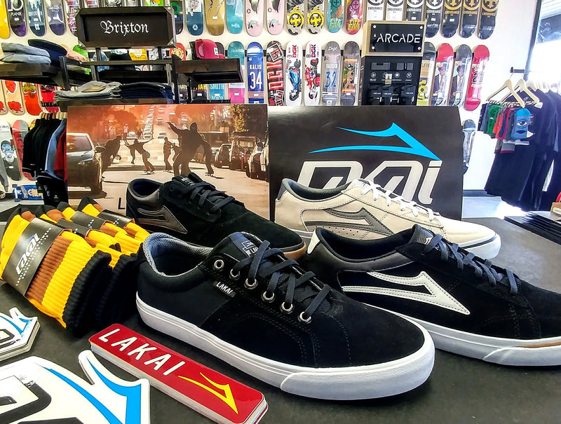 Lakai or Die! New Shoes and Specials