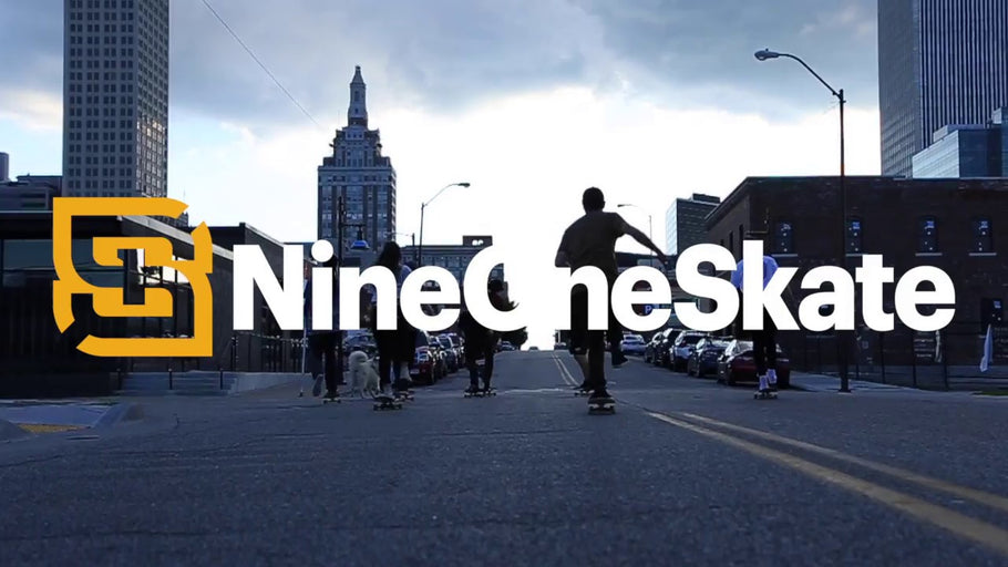 Nine One Skate Now at the Tulsa Boxyard!
