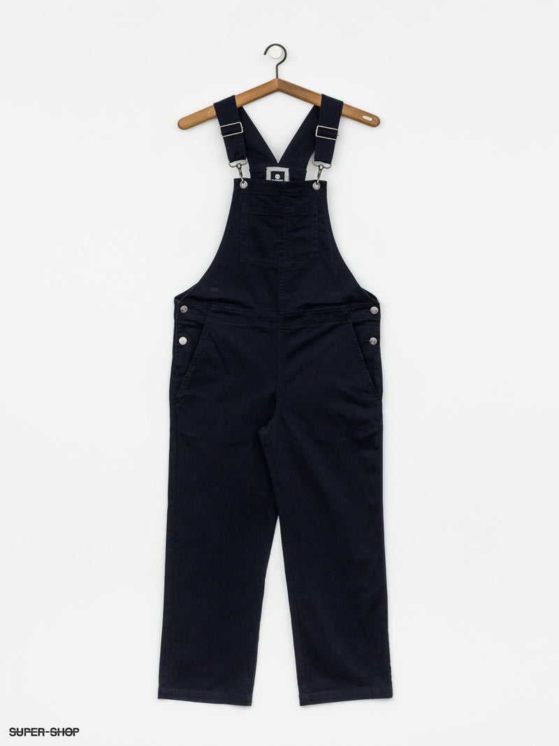 Element Womens Good Dayz Overall Flint Black