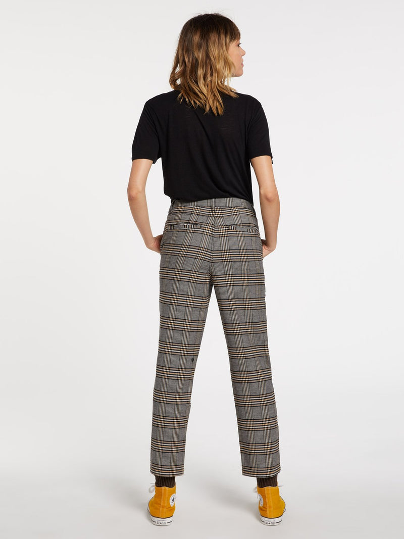 Volcom Frochickie Highrise Pants - Vintage Gold
