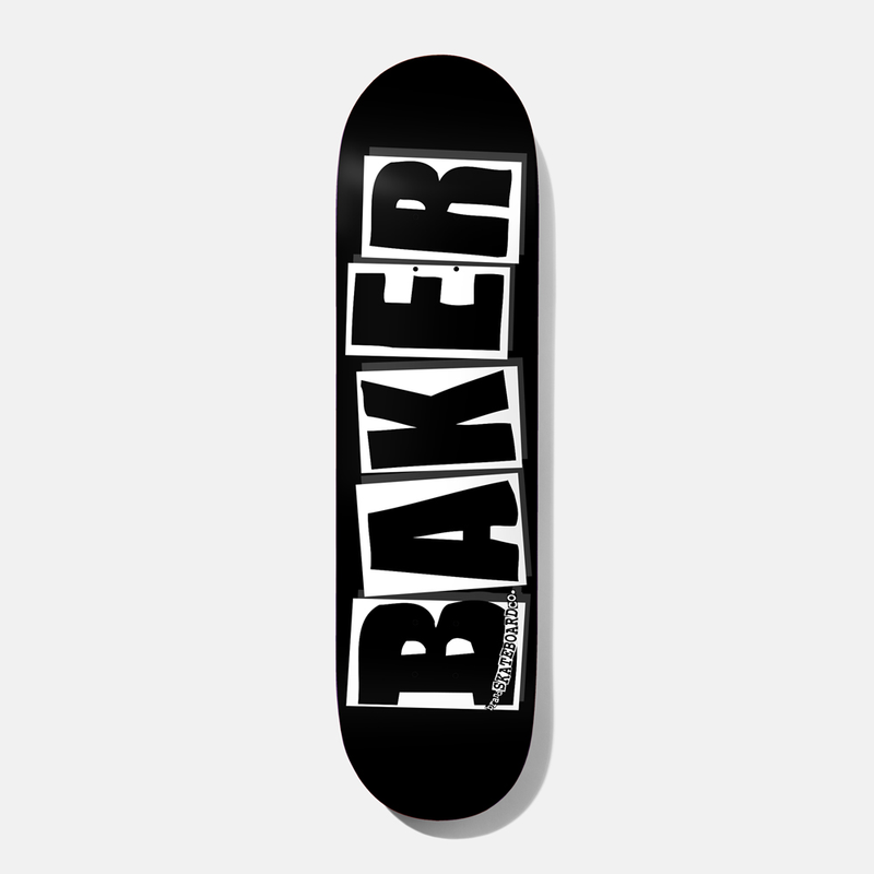 Baker Brand Logo Black/White 8.47 Deck