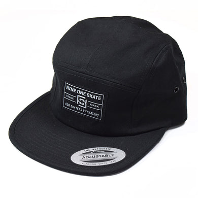 Nine One Skate Hat 5 Panel Camper