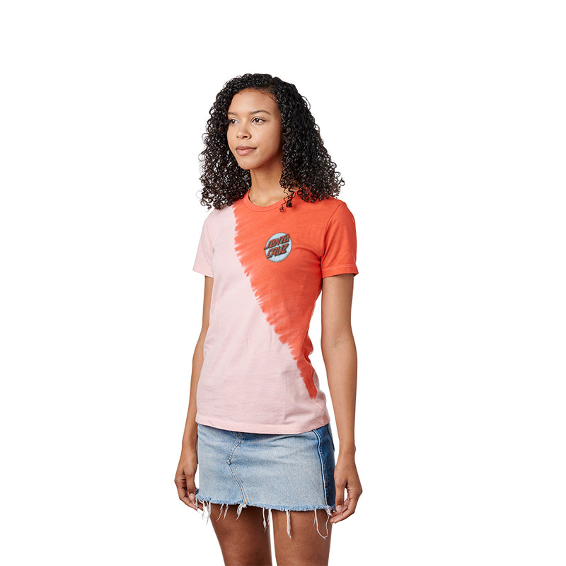 Santa Cruz Missing Dot Dip Womens Tee