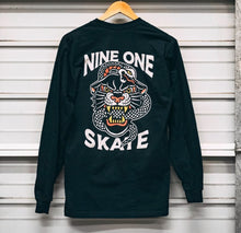 "Nine One Skate ""Danger Luncheon"" Longsleeve Tee"