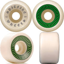 Spitfire OG Classics 52mm 99a Wheels