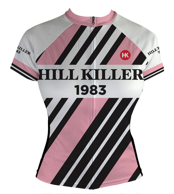 Throwback 1983 Women's Club-Cut Cycling Jersey by Hill Killer