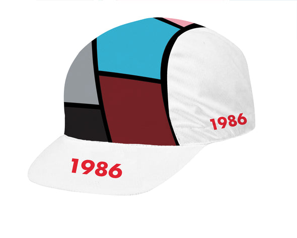 Throwback 1986 Unisex Cycling Cap by Hill Killer