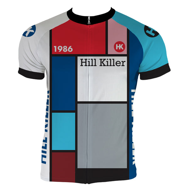 Throwback 1986 Men's Club-Cut Cycling Jersey by Hill Killer