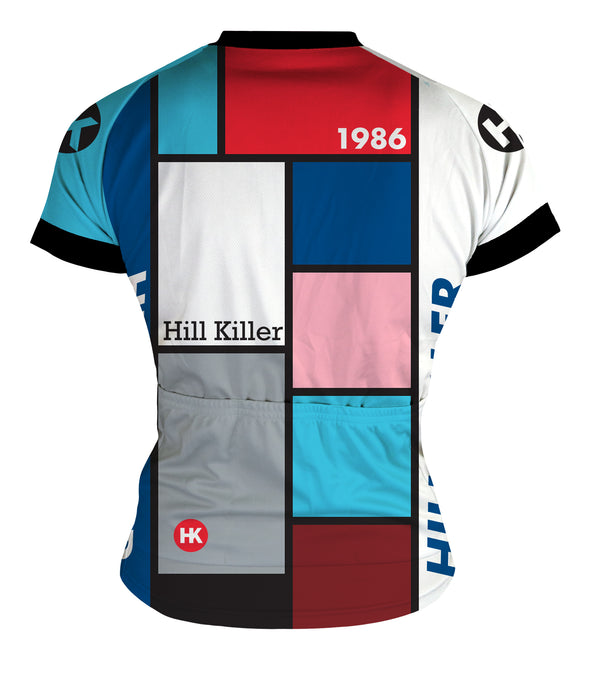 Throwback 1986 Women's Club-Cut Cycling Jersey by Hill Killer