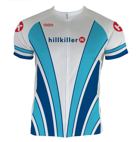 Throwback 1989 Men's Club-Cut Cycling Jersey by Hill Killer