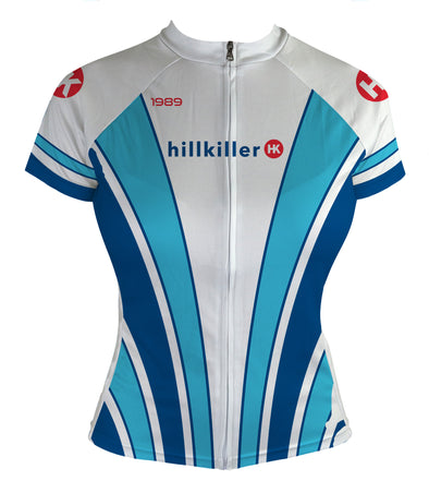 Throwback 1989 Women's Club-Cut Cycling Jersey by Hill Killer