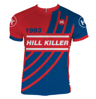 Throwback 1993 Men's Club-Cut Cycling Jersey by Hill Killer