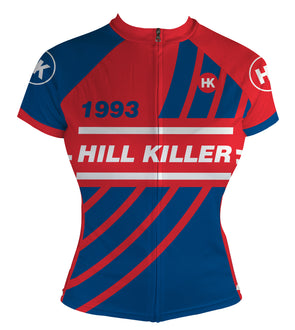 Throwback 1993 Women's Club-Cut Cycling Jersey by Hill Killer