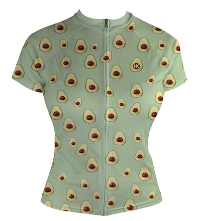 I <3 Avocados Women's Club-Cut Cycling Jersey by Hill Killer