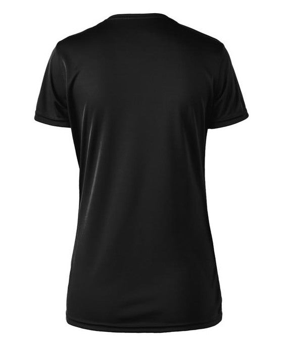 Essentials Running (subdued collection) Women's Crewneck Tech T-Shirt by Hill Killer