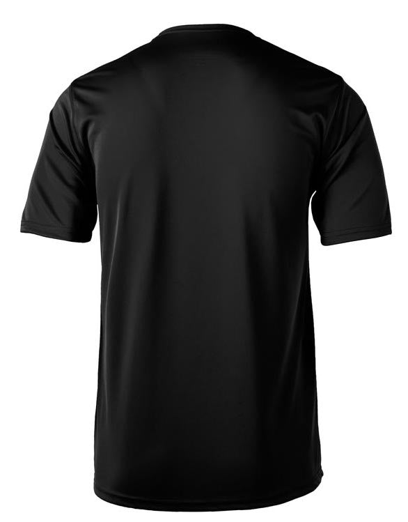 Essentials Running (subdued collection) Men's Crewneck Tech T-Shirt by Hill Killer