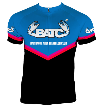 Baltimore Area Triathlon Club Cycling Jersey Custom BATC by Hill Killer