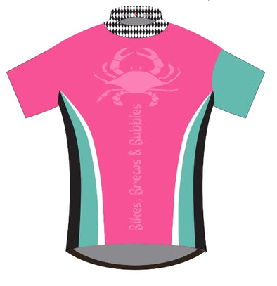 Bikes, Brews & Bubbles Cycling Jersey