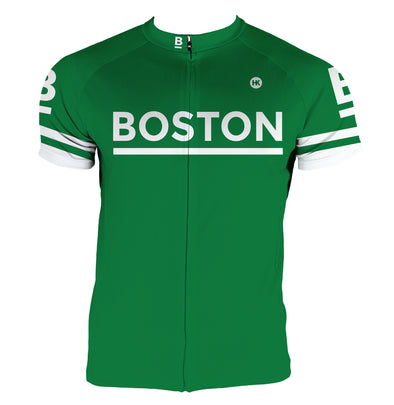 Boston Men's Club-Cut Cycling Jersey by Hill Killer
