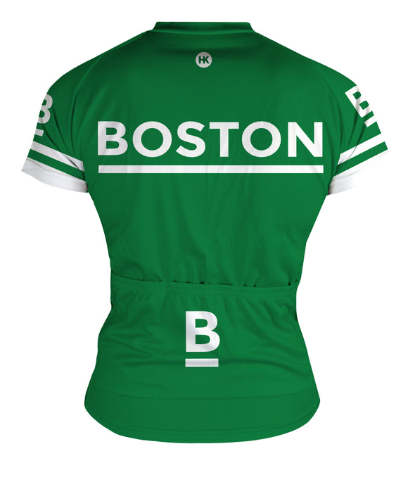 Boston Women's Club-Cut Cycling Jersey by Hill Killer