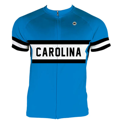 Carolina Men's Club-Cut Cycling Jersey by Hill Killer