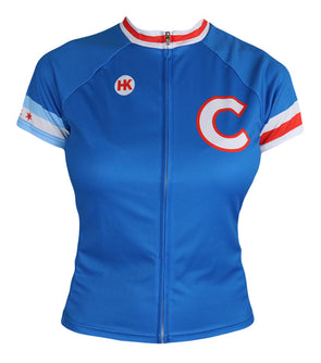 Chicago 108 Women's Club-Cut Cycling Jersey by Hill Killer