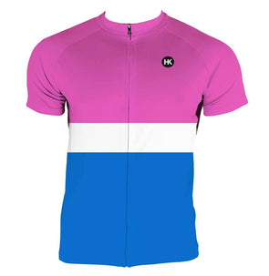 Cotton Candy Men's Club-Cut Cycling Jersey by Hill Killer