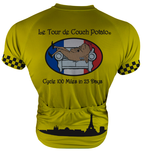 Tour de Couch Potato Cycling Jersey