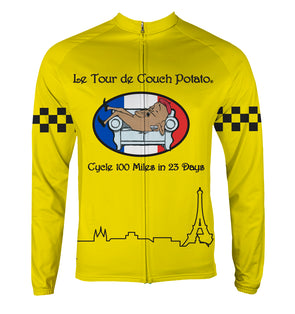 Tour de Couch Potato Thermal Jersey