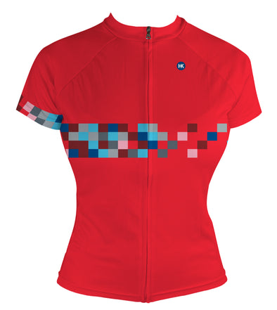 Color Coded Women's Summer Light Club-Cut Cycling Jersey by Hill Killer