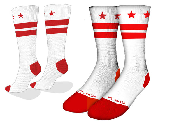 DC Flag Cycling Socks