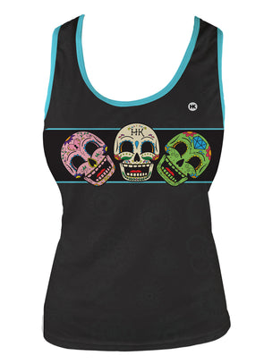 Dia Très Women's Running Singlet by Hill Killer
