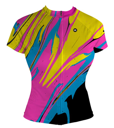 DragonFire Women's Club-Cut Cycling Jersey by Hill Killer